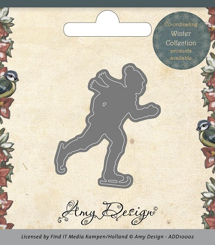 Amy Design - Die - Ice skater ADD10002
