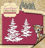 Die - Yvonne Creations - Traditional Christmas - Snowy Tree