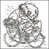 Clear Stamp Bycicle DDS3322