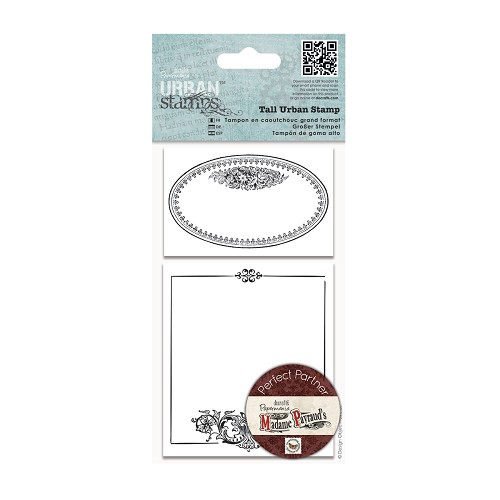 Tall Urban Stamps - Oval Frame