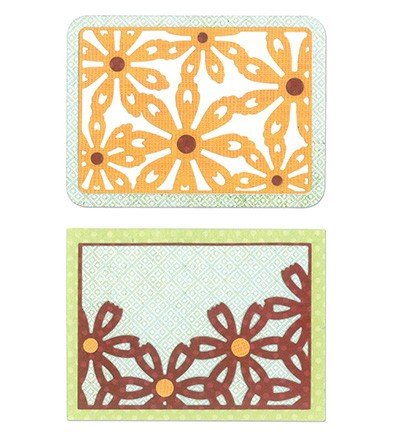 Sissix ThinLits  Flower Cards 659974