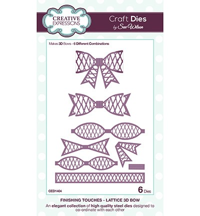 CED1404 - Craft Dies - Lattice Bow