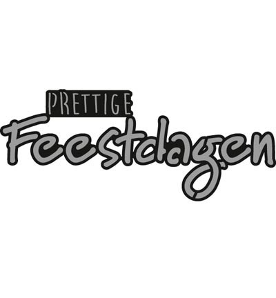 CR1326 - Craftables - Prettige FEESTDAGEN