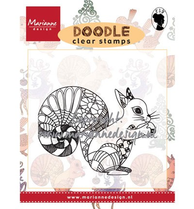 Clear Stamp squirrel EWS2214