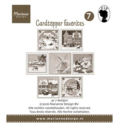 CT1507  - Card Toppers - Els 2