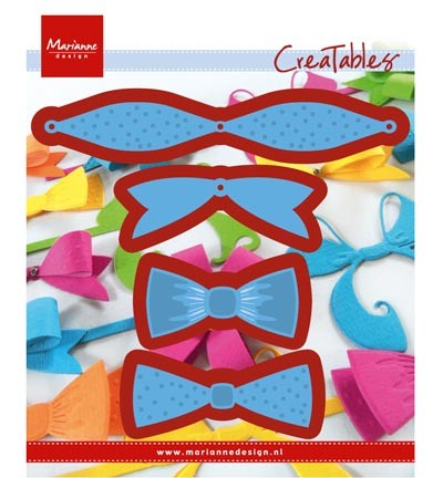 Cutting / embossing » Marianne Design » Creatables  Mix & match bows  LR0448