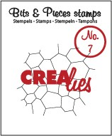 Crealies Clearstamp Bits&Pieces no. 07 Thin mosaic CLBP07