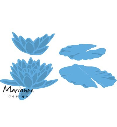 Marianne Design » Creatables Tiny`s waterlily (L) LR0460