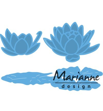 Marianne Design » Creatables  Tiny`s waterlily (S)  LR0459