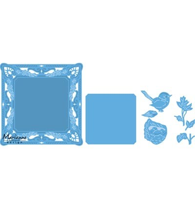 Marianne Design » Creatables  Petra`s square with nest LR0458