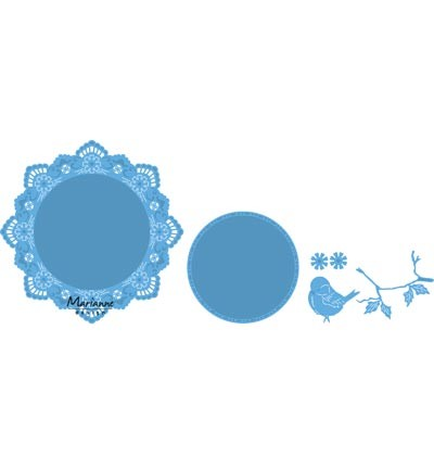 Marianne Design » Creatables Petra`s circle with bird LR0457