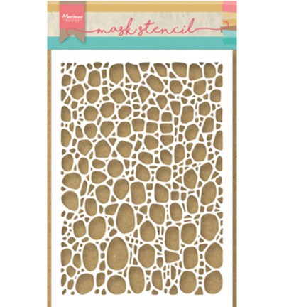 Marianne Design Mask Stencil Tiny`s cobble stone PS8001