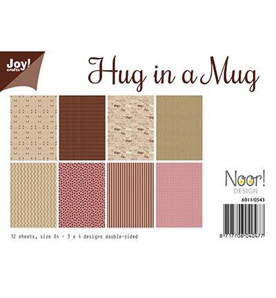 6011/0543 - Papierset - Hug in a Mug JOY!