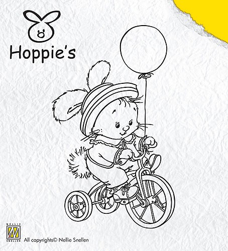 Clear Stamp Hoppie`s 3 - Biking