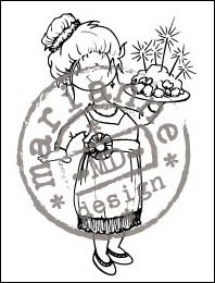 HM Clear Stamp Christmas diner HM9448
